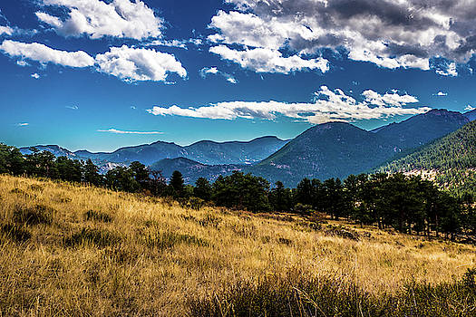 Blue Skies and Mountains by James L Bartlett