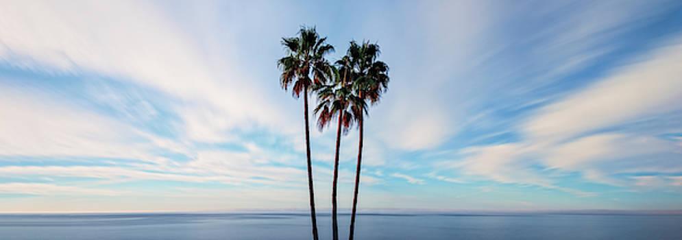 Blue Skies By The Water by Nazeem Sheik