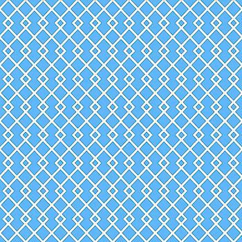 Blue Sky Diamond Pattern by Ross