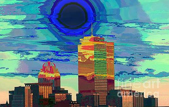 Blue Sun Over The Pru by Lori Pessin Lafargue