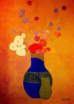 Blue Vase 3 by Bill OConnor