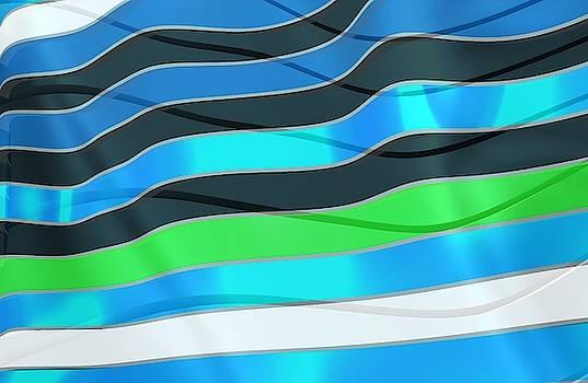 Blue Waves Fashion by Alberto RuiZ