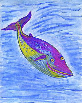 Blue whale by Dobrotsvet Art