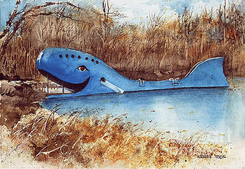 Blue Whale by Monte Toon