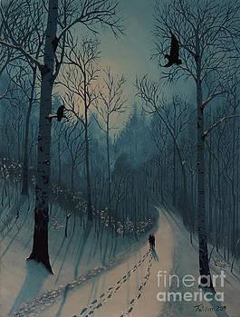 Blue Woods by Stanza Widen