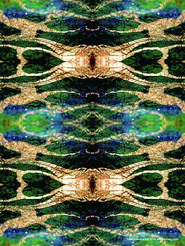 Bluegreenfractal by Electricmeg