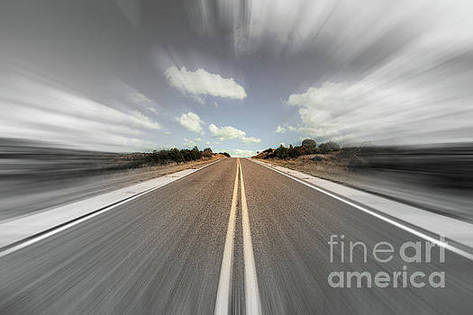 Blurry Time in New Mexico  by Raul Rodriguez