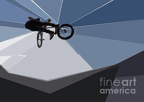 BMX Biking  by Wendy Thompson