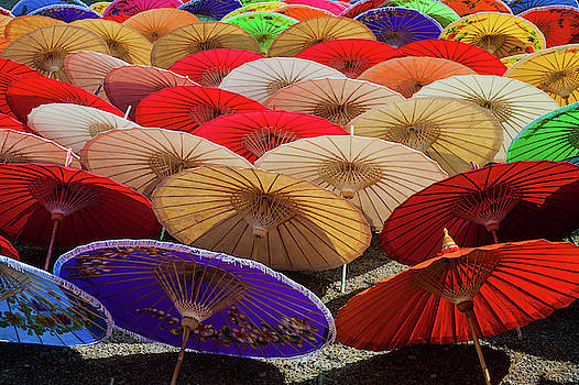 Bo Sang Umbrellas, Thailand by Ian Robert Knight
