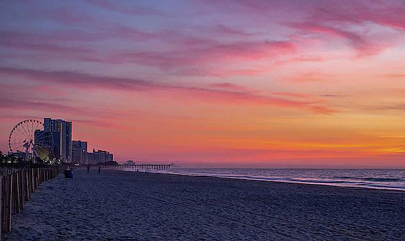 Boardwalk Sunrise by David Palmer