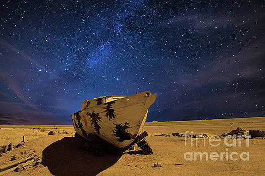 Night Boat by Sherry Little Fawn Schuessler