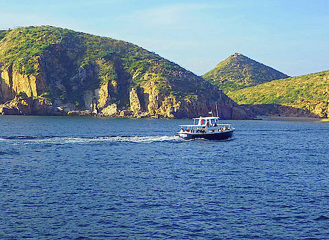 Boat Tour in Cabo San Lucas by Emmy Marie Vickers
