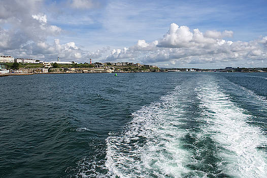 Boat Trip on Plymouth Sound by Chris Day