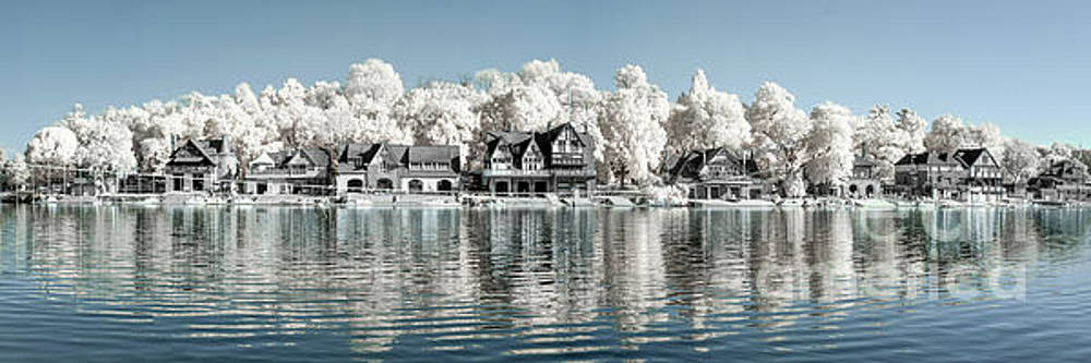 Boathouse Row Infrared by Stacey Granger