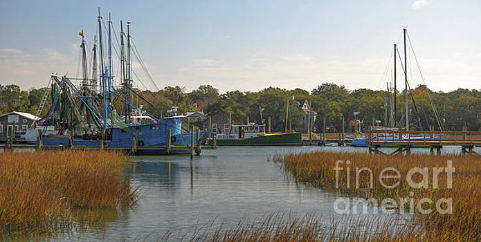 Boating on Shem Creek - Southern Style by Dale Powell