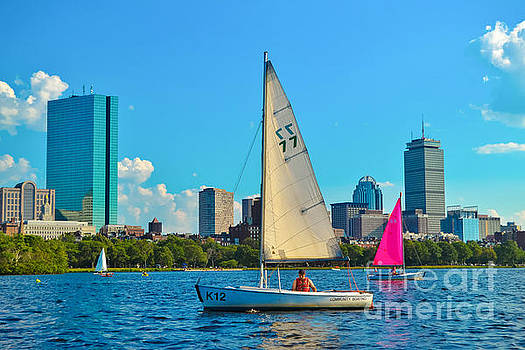 Boating on the Charles by SoxyGal Photography