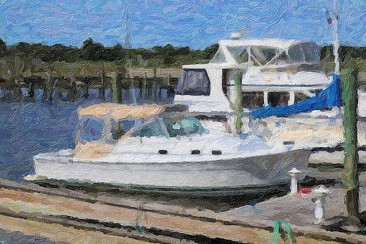 Boats And Boat Docks 2 by Cathy Lindsey