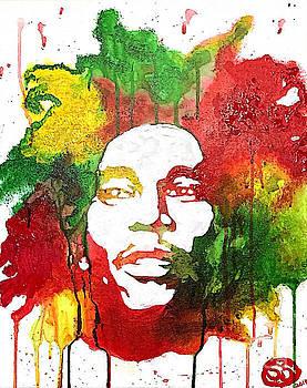 Bob Marley by Samuel Snelling