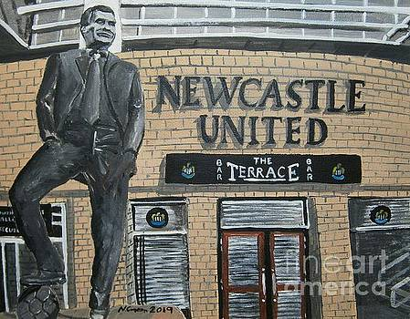 Bobby Robson Statue by Neal Crossan