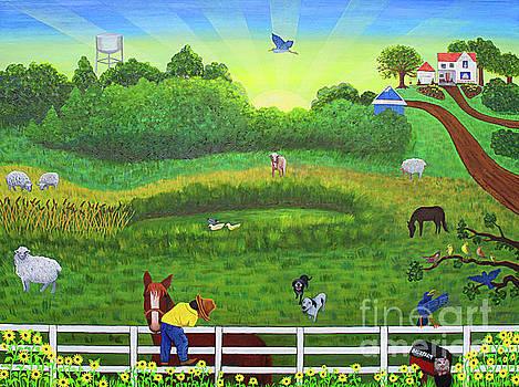 Bob's Farm  by Victoria Christian