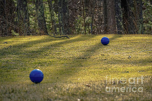 Bocce balls by Claudia M Photography