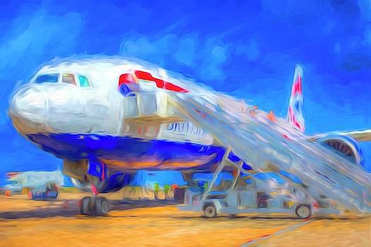 Boeing 777 Art by David Pyatt