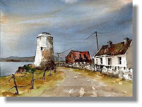 Val Byrne - Boffin Lighthouse, Galway