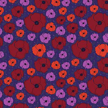 Bold Poppies by Lisa Blake