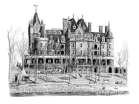 Boldt Castle by Murphy Elliott