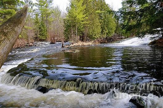 Bond Falls Scenic Area by Sandra Updyke