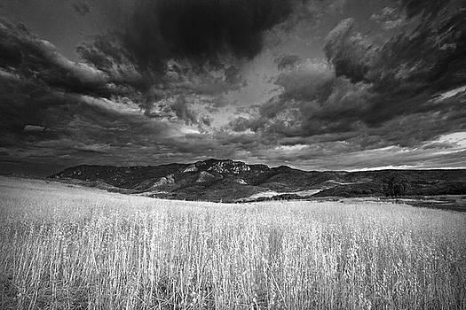 Boney Mountain Black and White by John Rodrigues