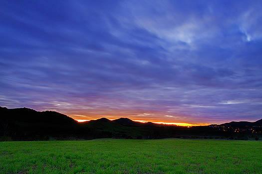 Boney Mountain Sunset by John Rodrigues