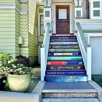 Book Stairs House by Julie Gebhardt