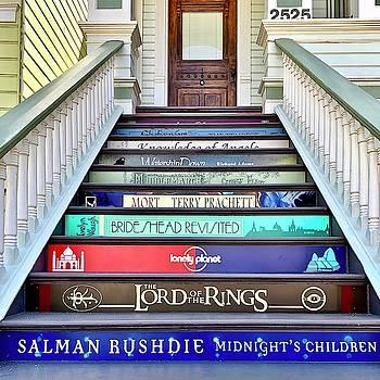 Book Stairs by Julie Gebhardt