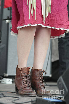 Boots and Skirt by Concert Photos