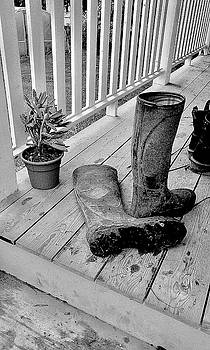 Boots On The Back Porch by Alida M Haslett
