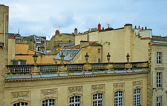 Bordeaux Rooftops by Kathy Yates