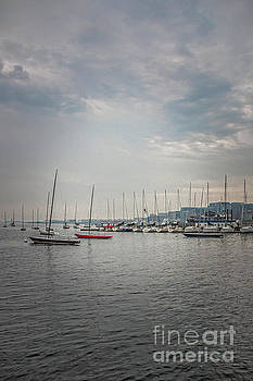 Boston Harbor II by Elizabeth Dow