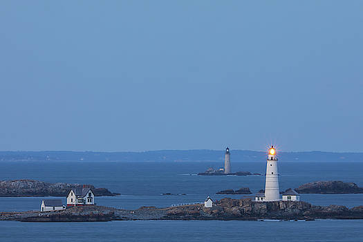 Boston Light and Graves Light by Juergen Roth