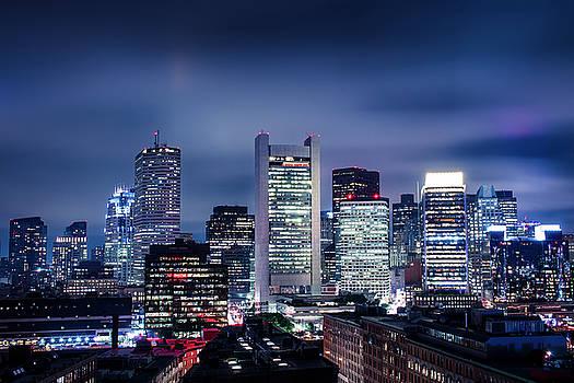 Boston Skyline by Dave Schmidt