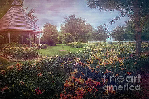 Botanical Garden #2 by Warrena J Barnerd