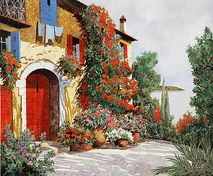 Bougainvillea Arancio by Guido Borelli