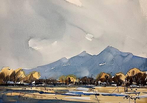 Boulder Winter 2 by Ugljesa Janjic