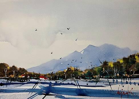 Boulder Winter by Ugljesa Janjic