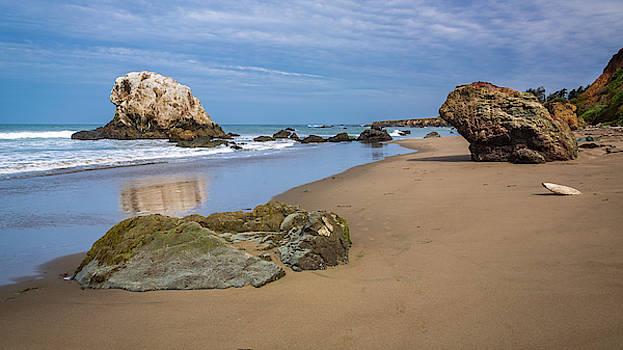Rick Strobaugh - Boulders on the Shore