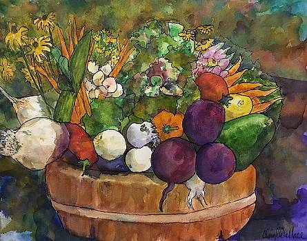 Bounty in a Basket by Cheryl Wallace