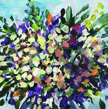 Irina Sztukowski - Bouquet Wildflowers Splash Floral Impressionism