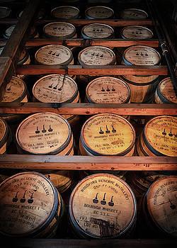 Susan Rissi Tregoning - Bourbon Barrels in the Rick