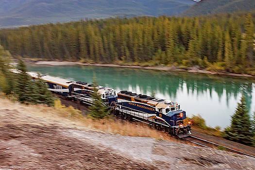 Bow River Blur by Steve Boyko