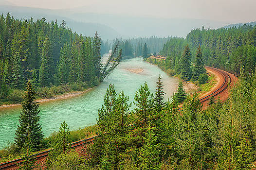 Bow River by Eunice Gibb
